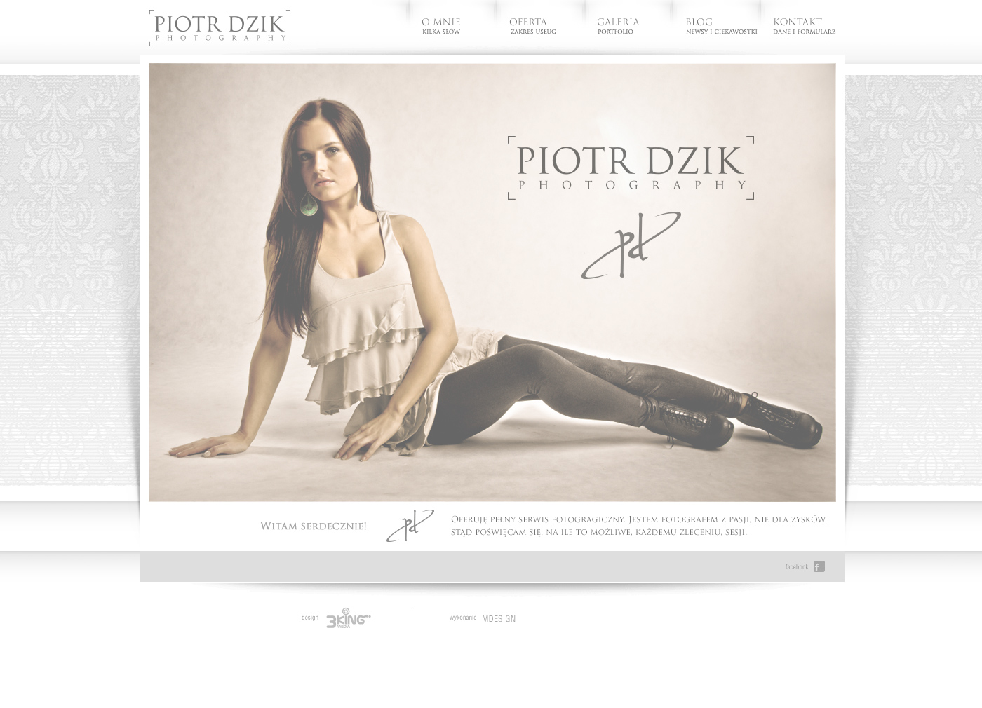 Piotr Dzik layout home