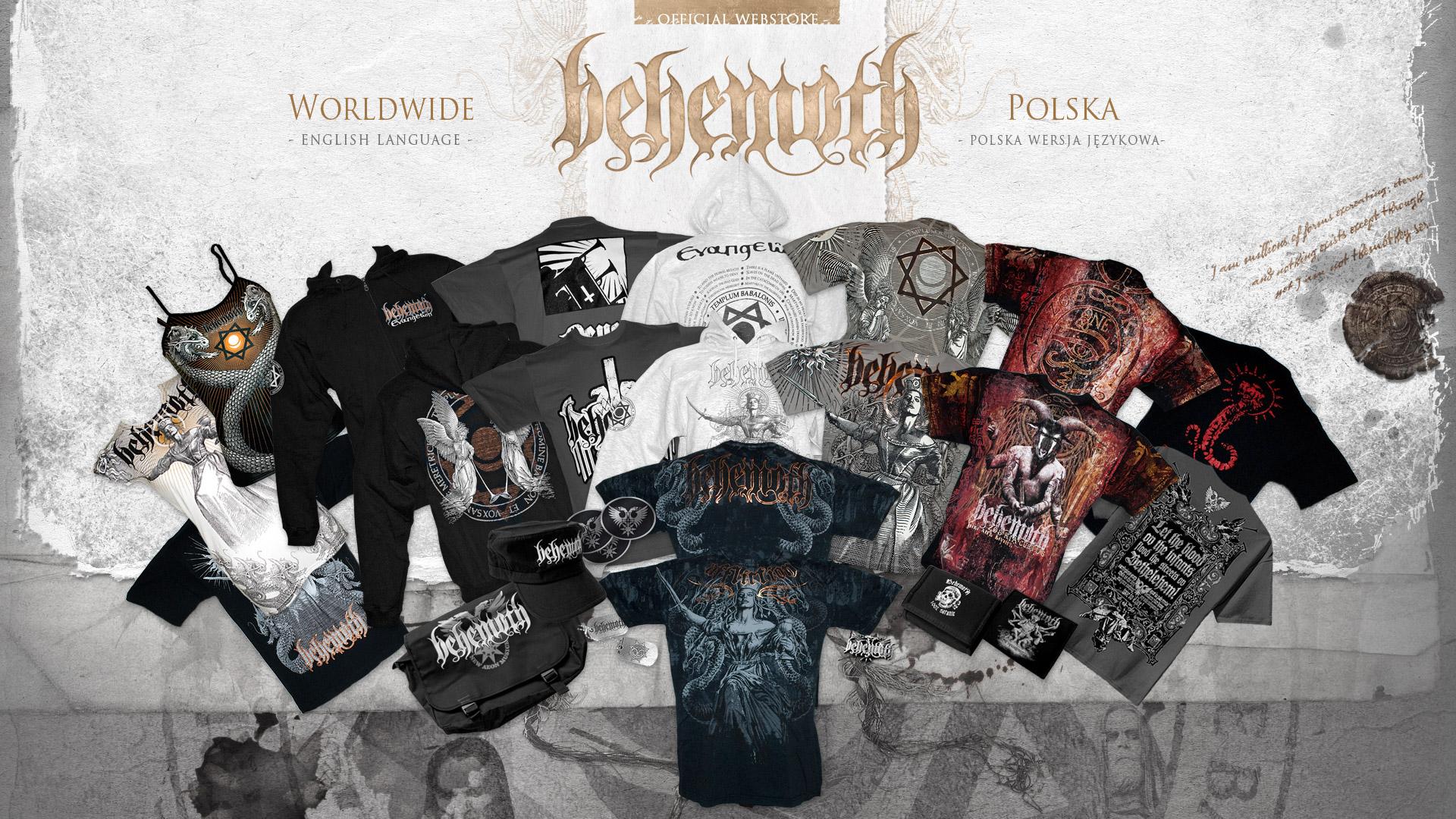 Behemoth store - edycja Evangelion (2009)