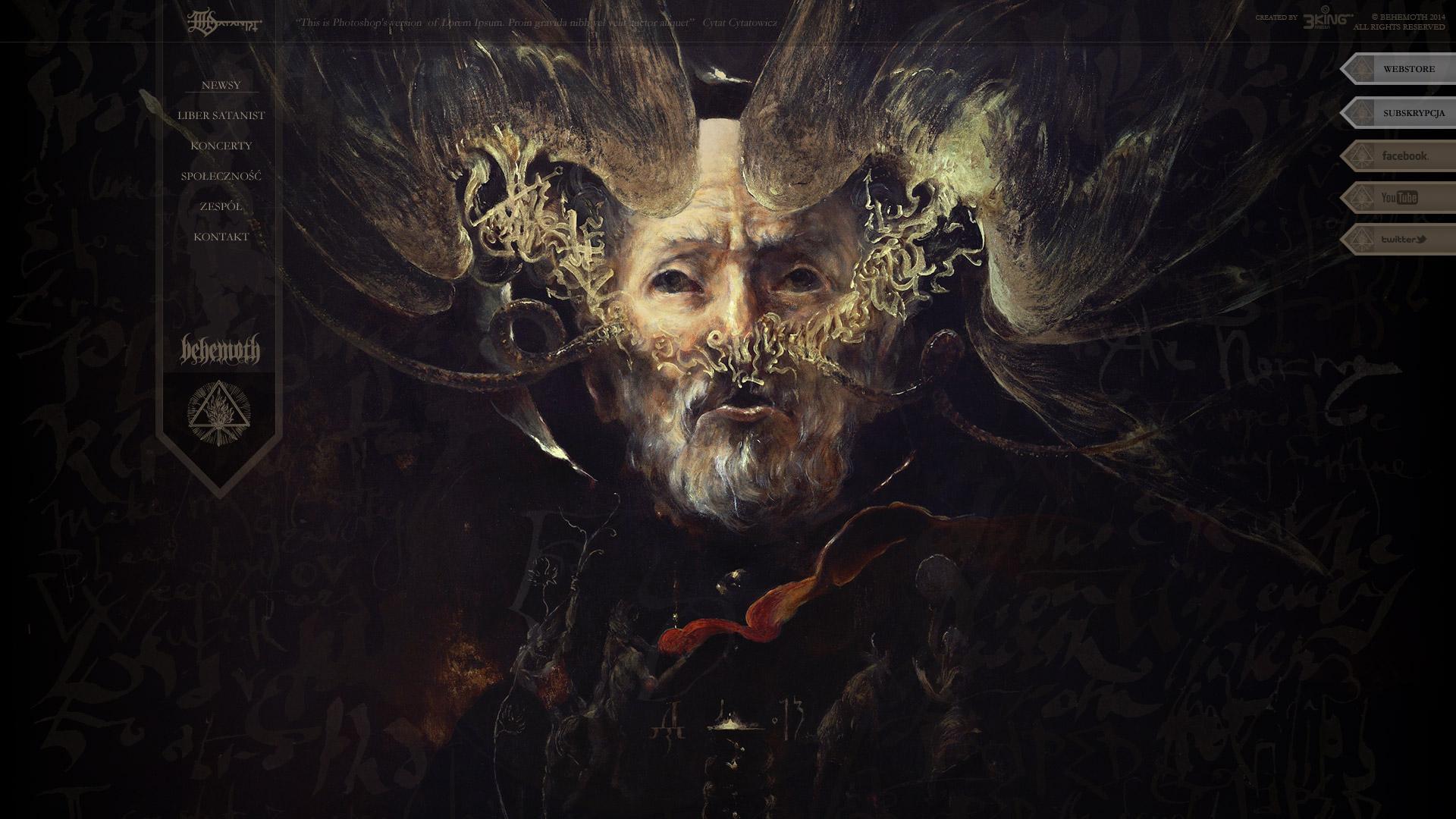 Behemoth edycja The Satanist (2014)
